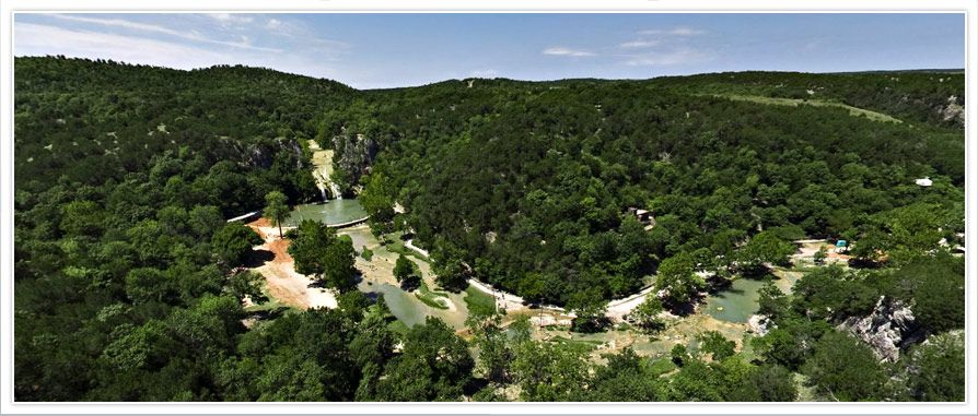 Turner Falls, Davis, OK. We went there years ago.
