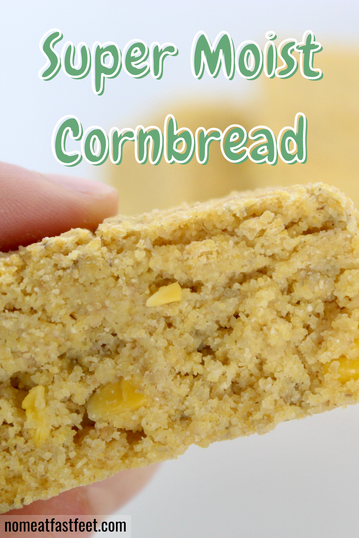 The Best Healthy Vegan Cornbread Recipe In 2020 Vegan Cornbread Low Sugar Recipes Healthy Dessert Recipes