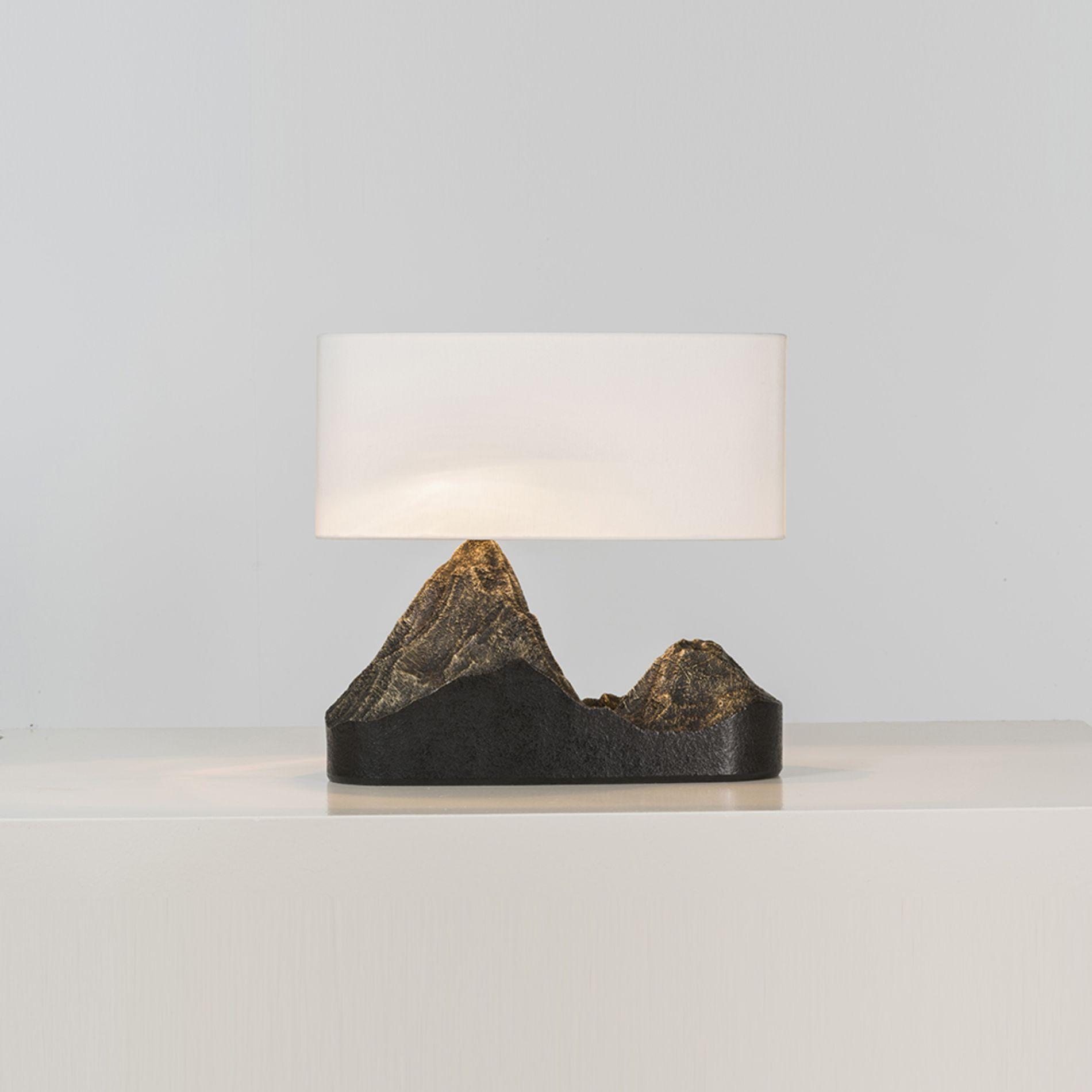 Raphael Navot Landscape Lampe Bronze Edition Maison Charles Marque De L Editeur Edition 1 7 Date Lampe De Table Moderne Lampe Design Lampes Salon