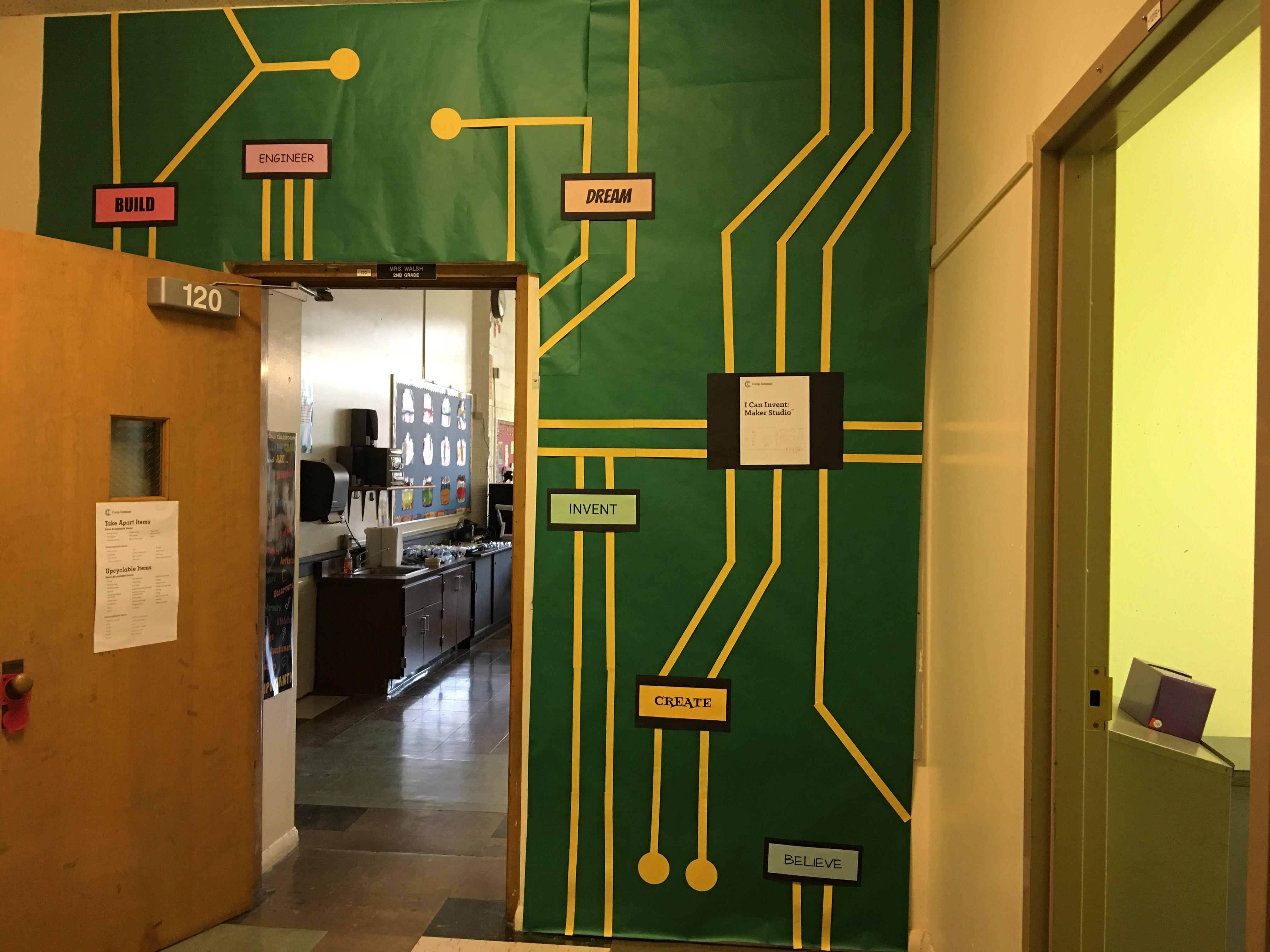 Classroom Decoration Camp Invention Stem 2016
