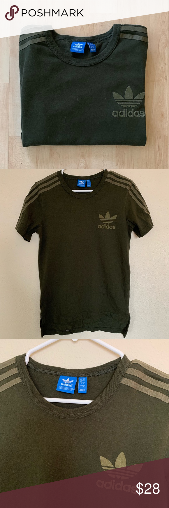 Adidas Originals Army Green Tee Japan