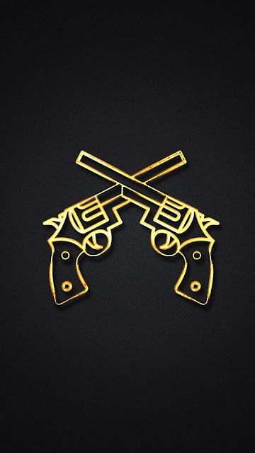 Gold Gun IPhone 7 And Plus HD Wallpaper