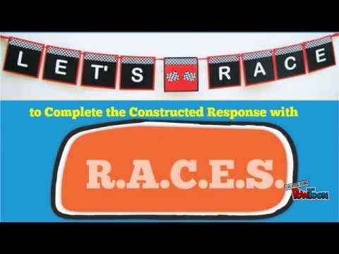 RACES Writing Strategy anchor charts Pinterest Writing