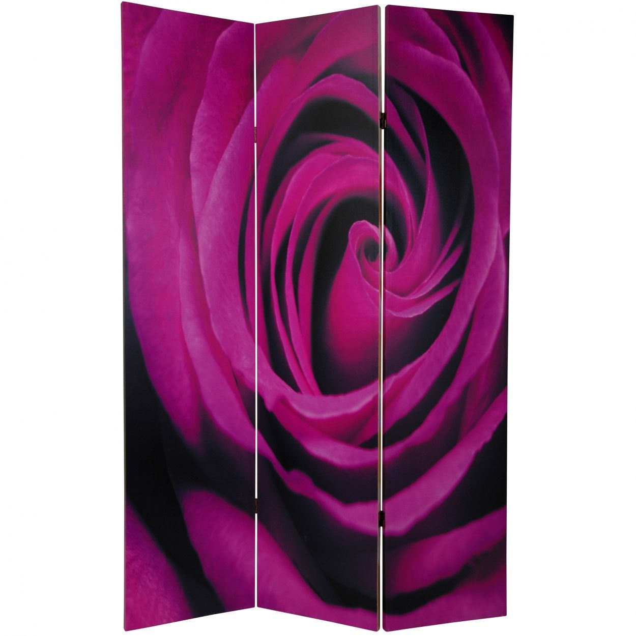 Buy ft tall double sided roses room divider online canrose