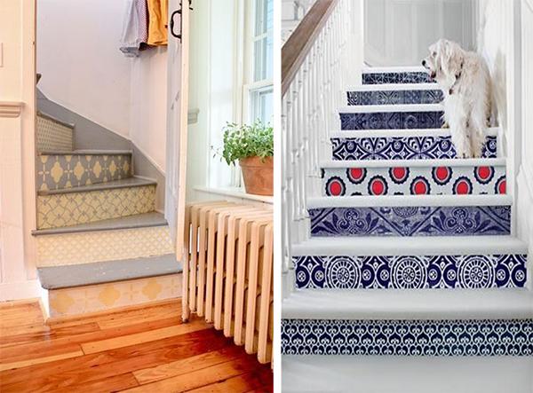 10 ideas para utilizar papel pintado sin ser en paredes for Papel pintado para pintar castorama