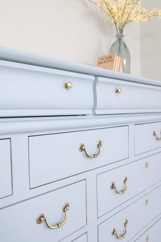 Best Blue Dresser Makeover With Fusion Mineral Little Whale 640 x 480