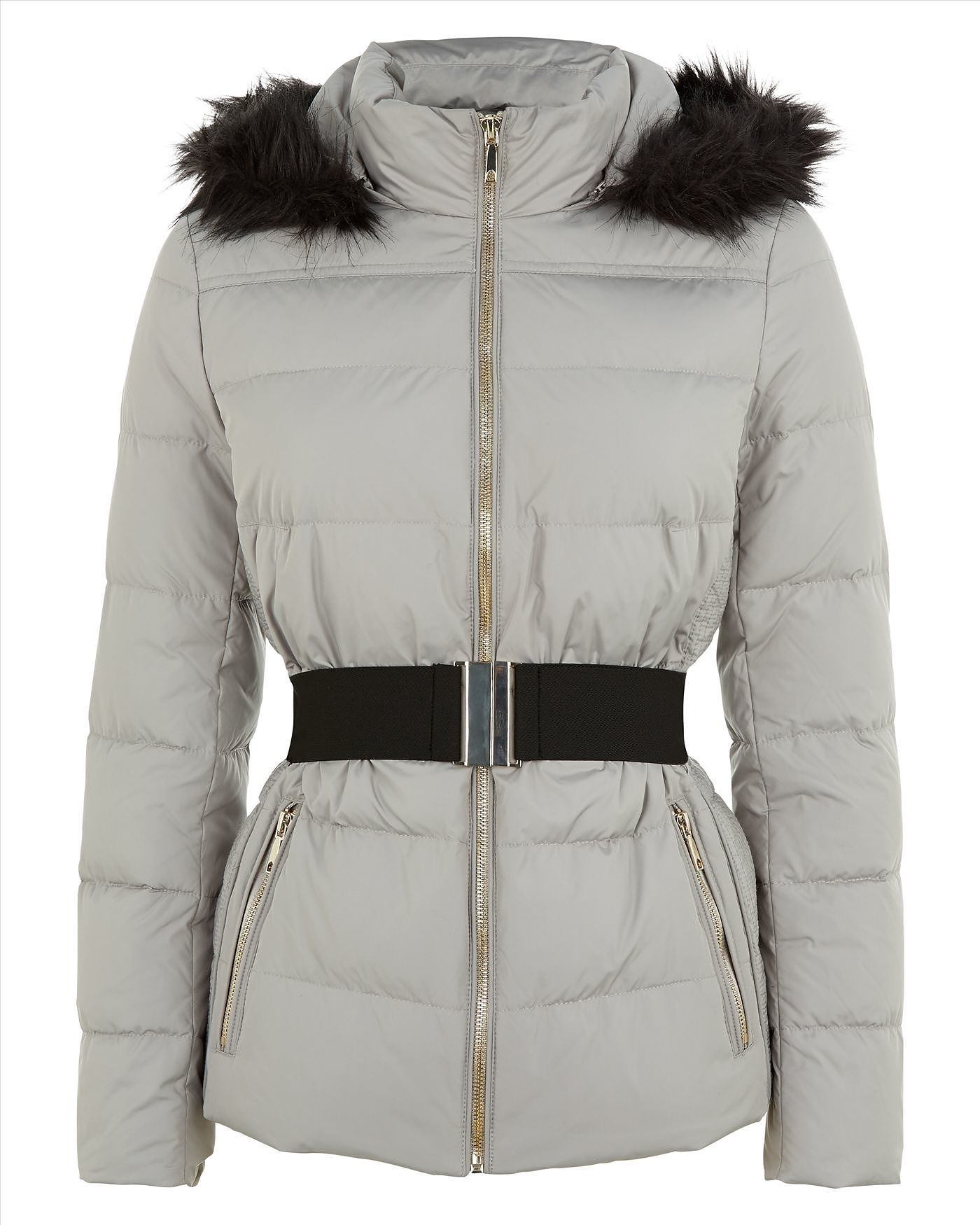 Womens dove grey jacket from Jaeger £199 at