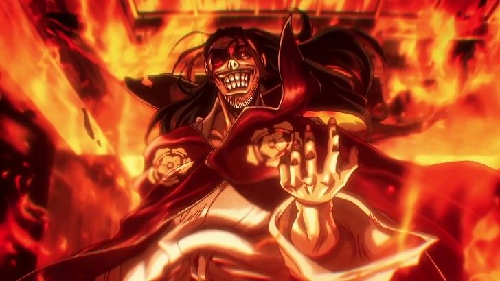Drifters Nobunaga Oda Anime Burning Wallpaper Drifter Anime Oda
