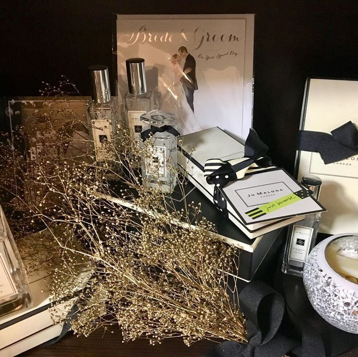 My favorite  display in my room! #jomalone #wedding #ウェディングスペー…