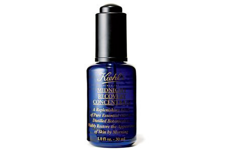 """Nighttime Skin Moisturizer Kiehl's Midnight Recovery Concentrate $42, kiehls.com  What it is: Your body naturally renews itself at night, so using this powerful omega-3 and -6 fatty-acid-enriched oil (including evening primrose and geranium) before bedtime can replenish and soften tired skin and improve its texture overnight. """"Plus, it's less foreign to skin than many chemical agents, so it won't cause irritation, and it penetrates quickly,"""" Kramer says."""