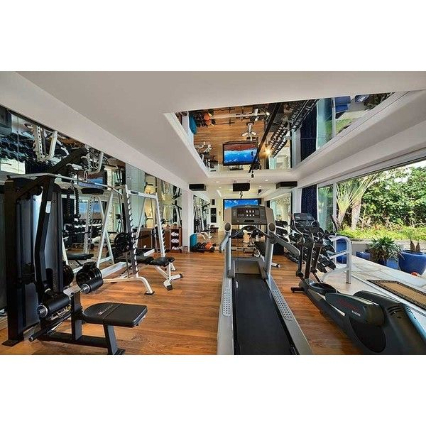 top 5 most extravagant personal home gyms liked on polyvore