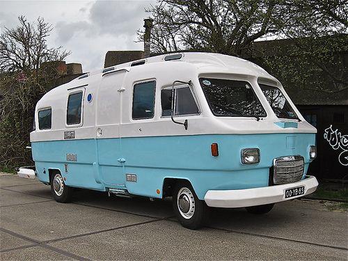 1974 hanomaghenschel f20l orion camper  vintage trailers