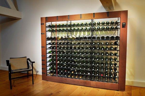 casiers vin casiers m talliques stockage vin cave. Black Bedroom Furniture Sets. Home Design Ideas