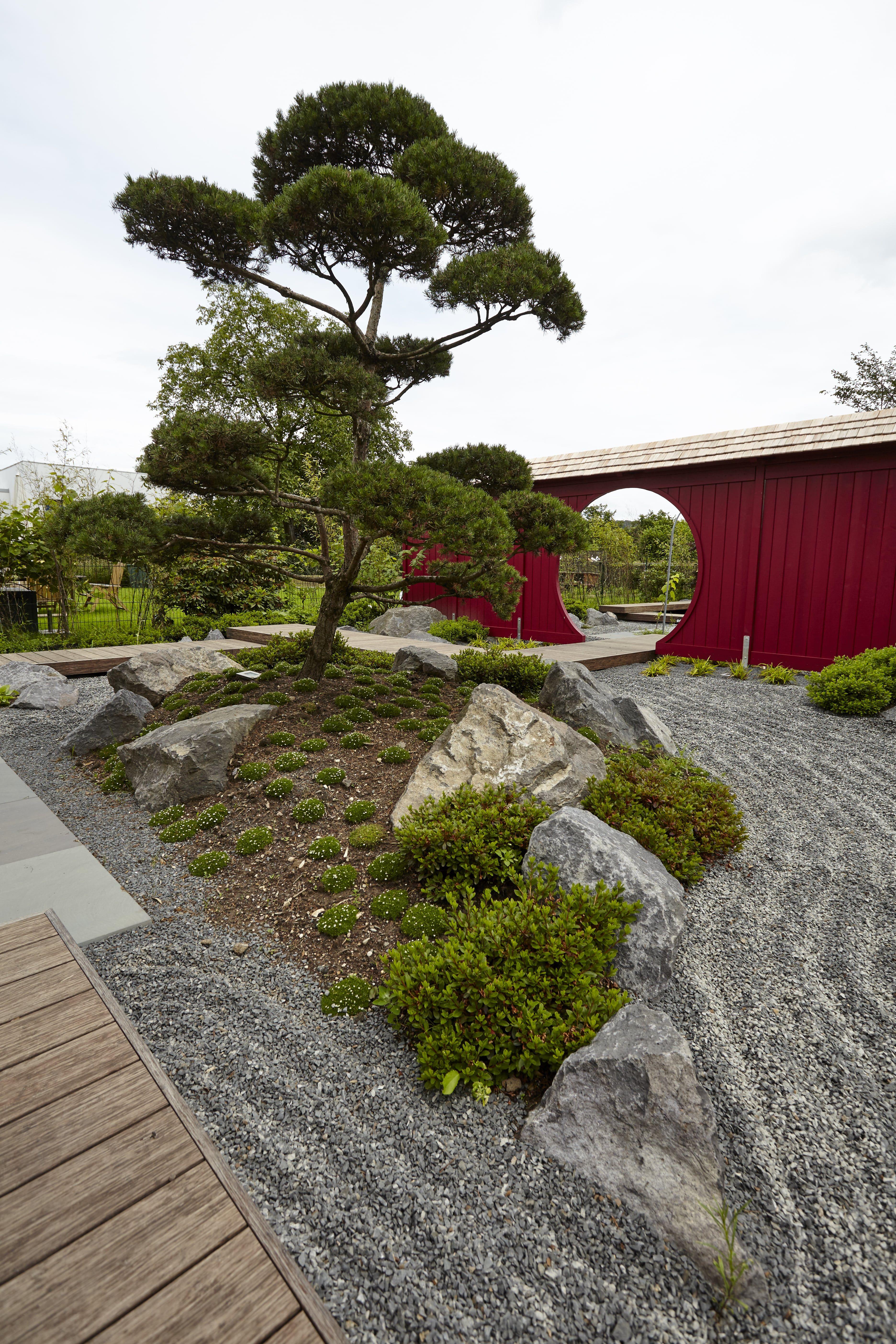 Traumhaftes Wohnen Im Garten Mit Wunderschöner Japanischer