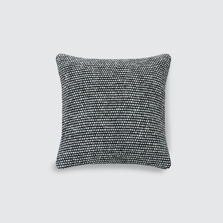 Hawthorn Tweed Pillows  Black & White