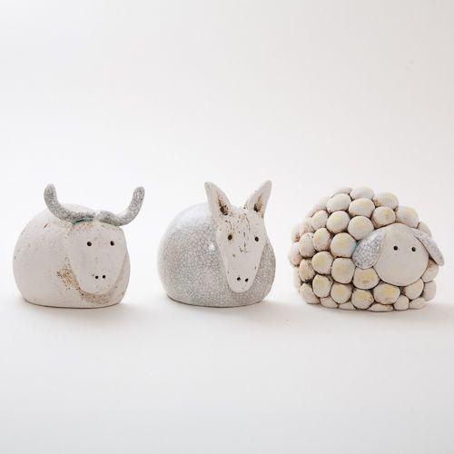 keramik krippenfiguren von isi weihnachtskrippen. Black Bedroom Furniture Sets. Home Design Ideas