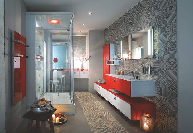 Déco de salle de bains  la salle de bains Mobalpa, Dans cette salle