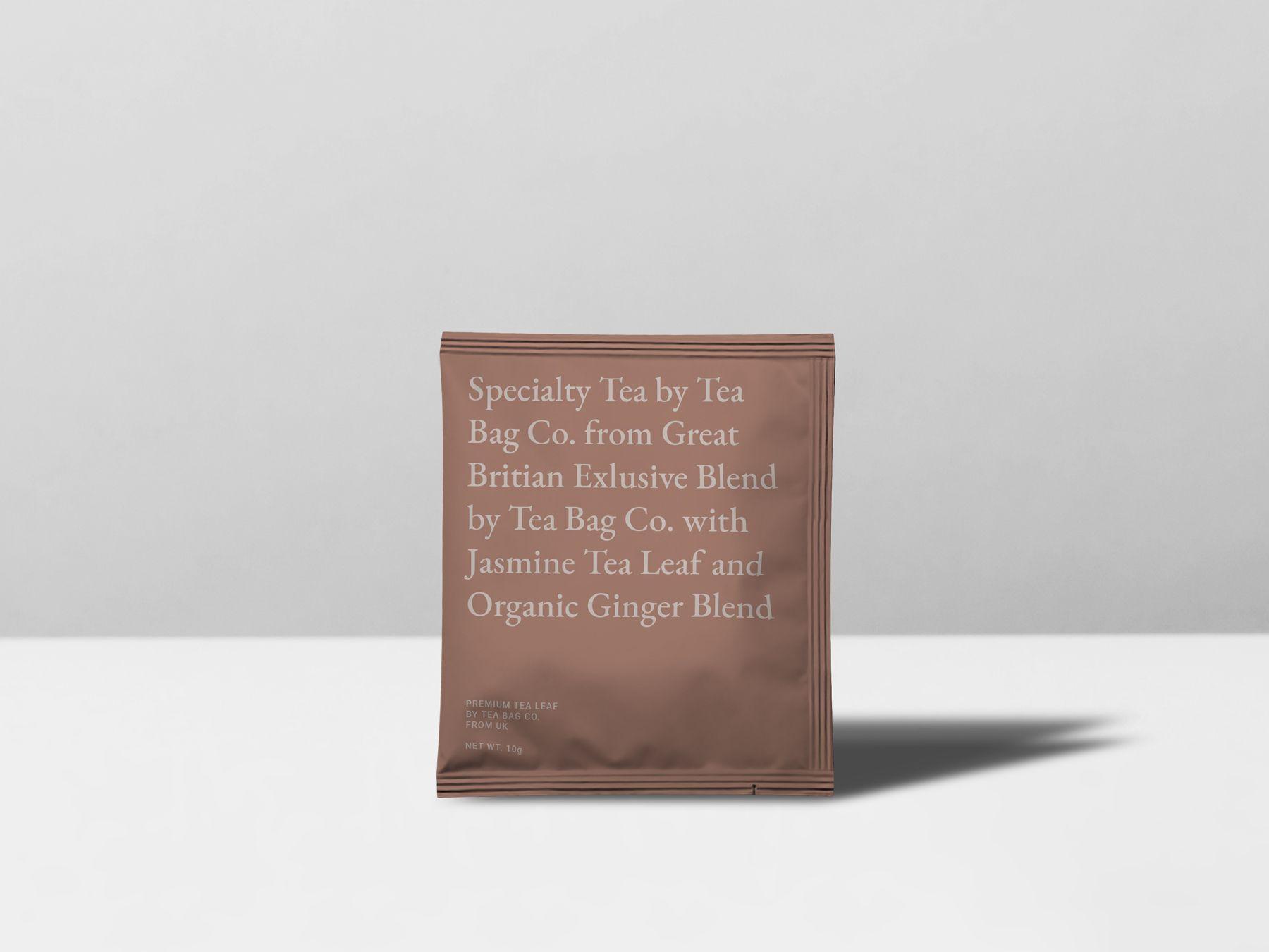 Download Chai Tea Bag Sealed Bag Mockup Tea Bag Tea Leaves Tea