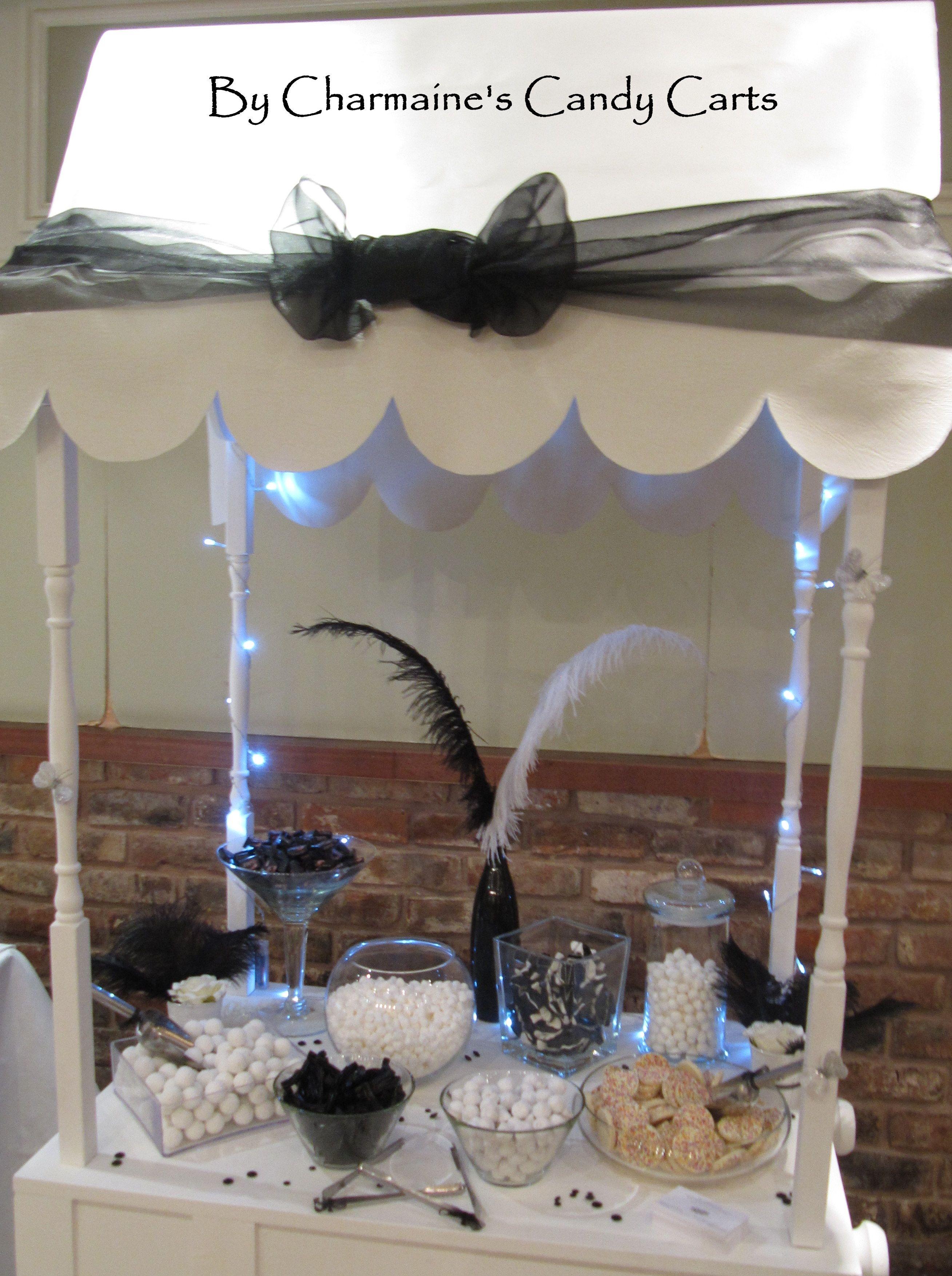 Black & White mini candy cart | Wrapping | Pinterest