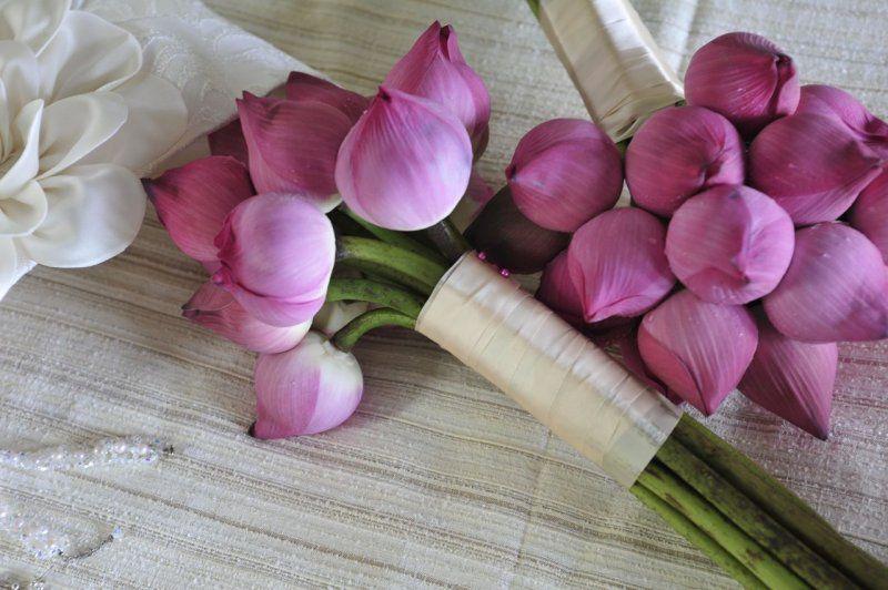 lotus flower bouquet wedding pinterest boda novios
