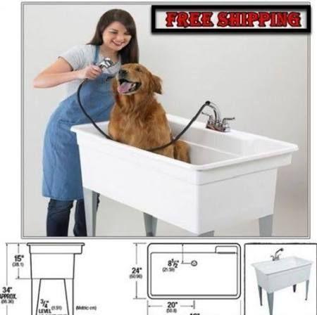 Dog Grooming Tub For Sale Google Search Dog Bath Tub Laundry