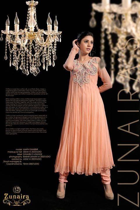 ae393f6a2c2 Pakistani Party Wear Dresses   Frocks 2016-17 by Zunaira Lounge. Latest  Pakistani Party wear Dresses for Women 2015-16 by Zunaira Lounge Formal  Collection