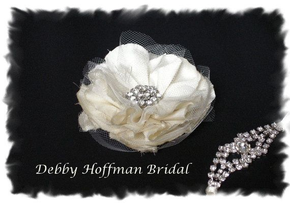 Ivory White Champagne or Black Silk Bridal by DebbyHoffmanBridal, $24.00