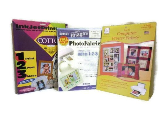 graphic about Printable Fabric Sheets for Inkjet Printers known as A few Courses Inkjet Printable Material Sheets A few