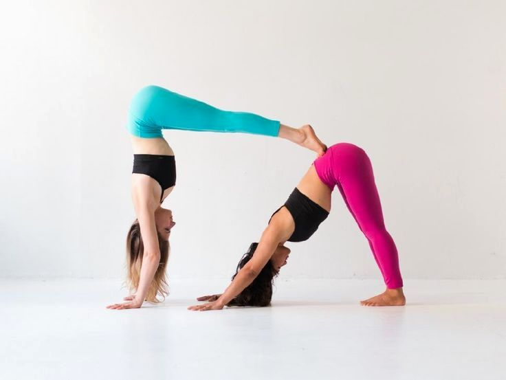 Yoga With Adriene Beginners Yoga Poses For Two Partner Yoga Poses Couples Yoga