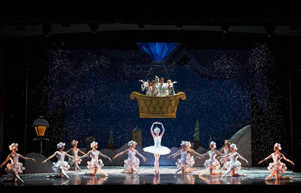 magníficas presentaciones de la compañia de ballet
