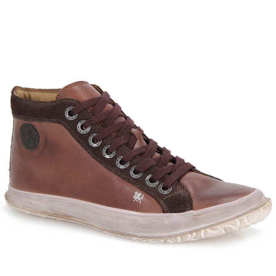 f913f99fd89 Sapatenis Masculino Carmim 22602 - Cafe - Passarela Calçados - Calçados  online