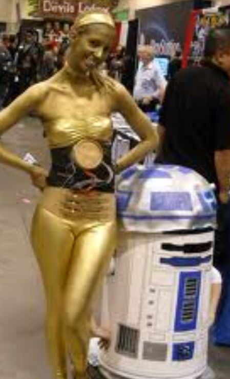R2D2 C3PO : These aren't the droids you are looking for ...