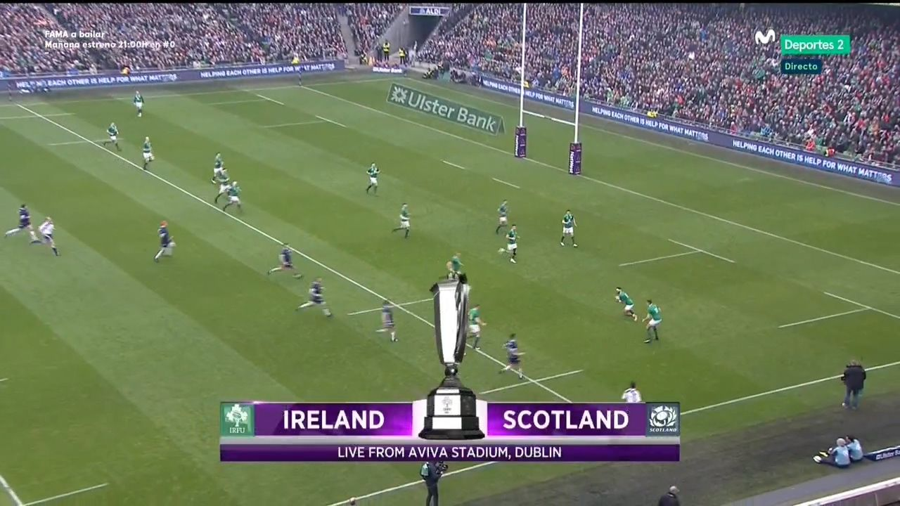 goals RUGBY UNION Six Nations 2018, R04 Ireland vs