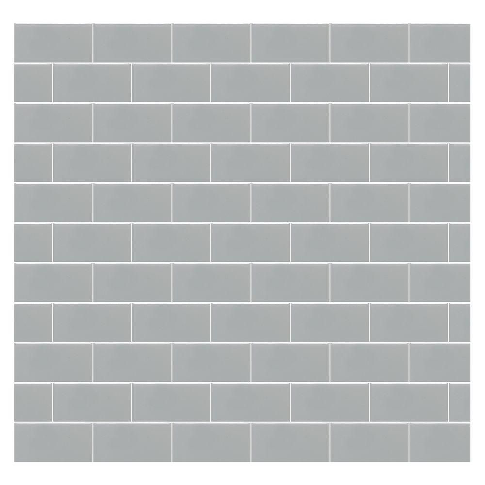 Daltile Rittenhouse Square Matte Desert Gray 3 In X 6 Ceramic Wall Tile