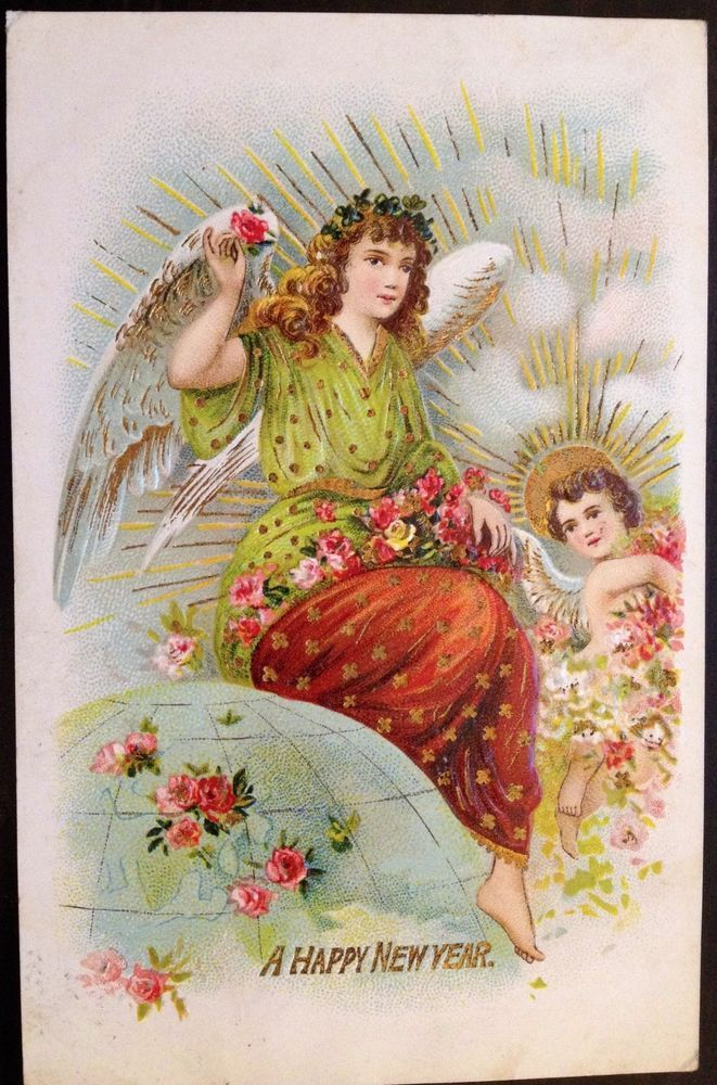 ANTIQUE GERMAN 1910/'s POST CARD MARY IMMACULATE CONCEPT