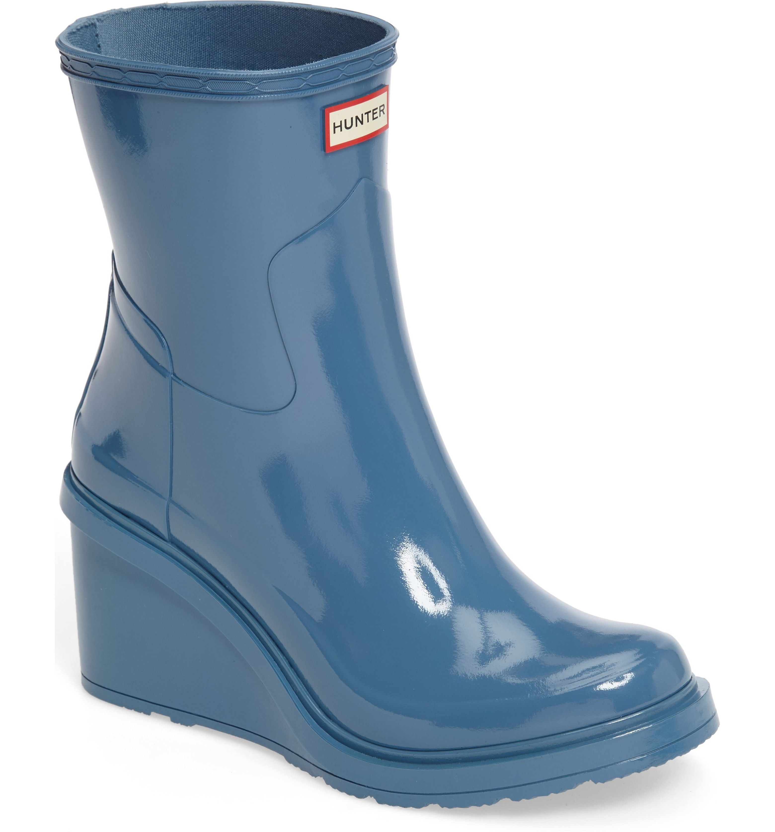 ff2207db67a2 Main Image - Hunter Original Refined Wedge Rain Boot (Women)