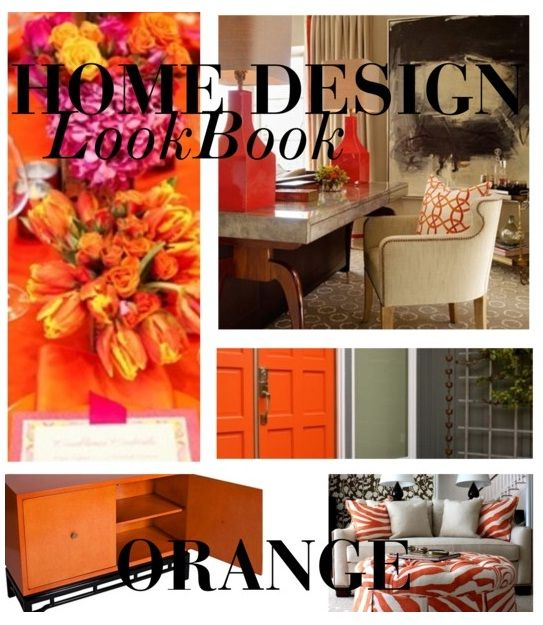 Home Design Lookbook Colors Ideas For Using Orange In Your Home Decor  Orange So Right