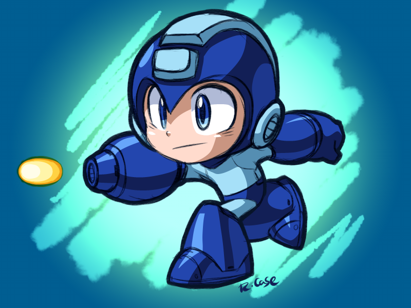 Deviantart Megaman Alia Inflation: MegaMan By Rongs1234 On DeviantArt