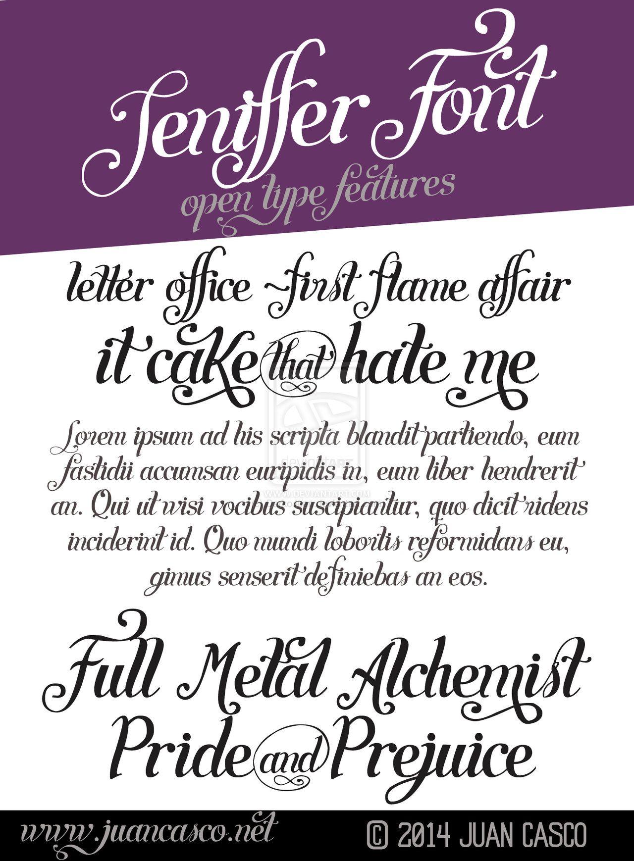 Lettering Font by DarkoJuan.deviantart.com on @deviantART