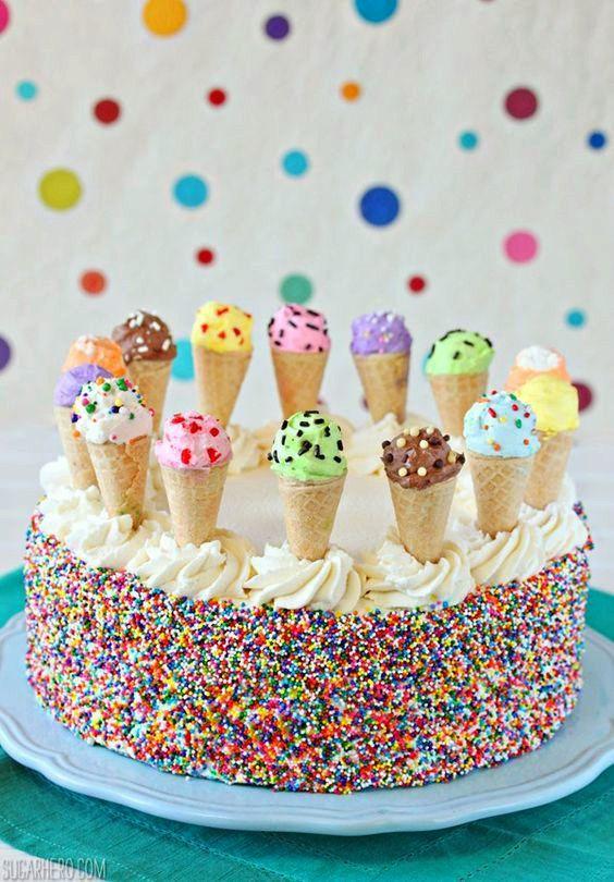 28 ideas creativas y caseras para decorar tartas infantiles