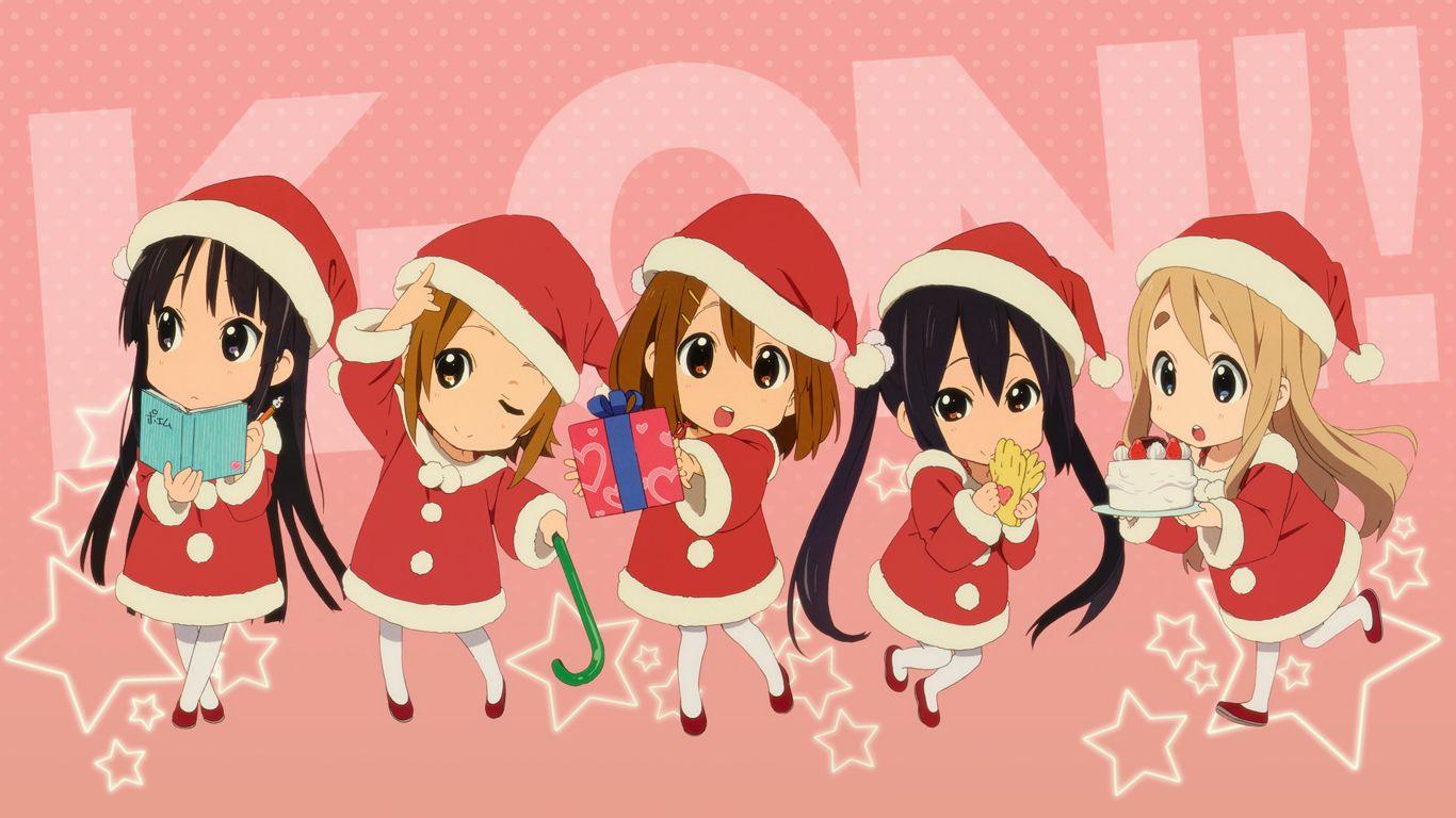 K On 364296 Zerochan Anime Christmas Anime Chibi