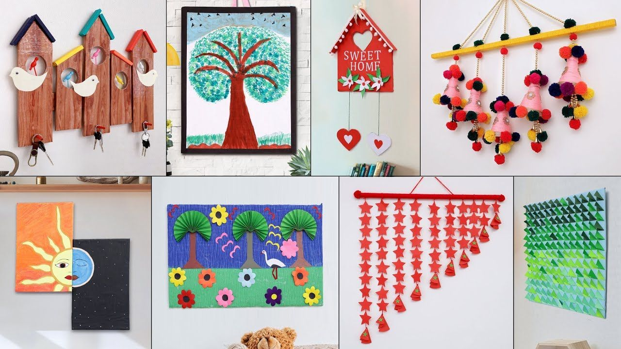 11 Wall Decor Diy For Your Home Paper Craft Cardboard Craft