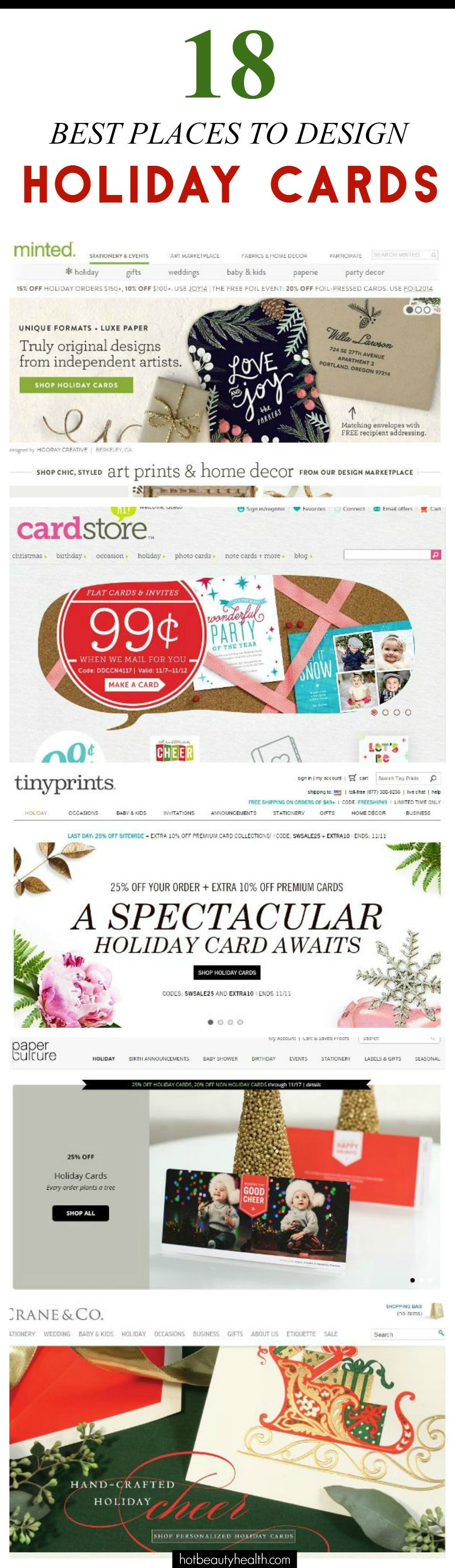 18 Best Places to Buy Holiday Cards This Year! | Christmas cards ...