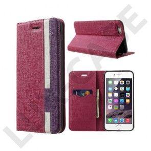 Trenter (Hot Pink / Purple) iPhone 6 Nahkakotelo
