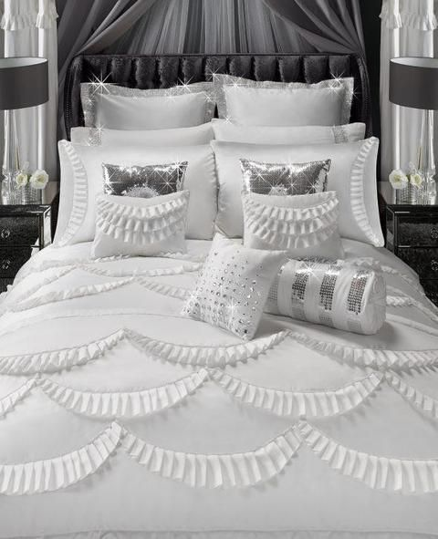 By Caprice - Amore Quilt Cover - Mirrored furniture - Sparkle