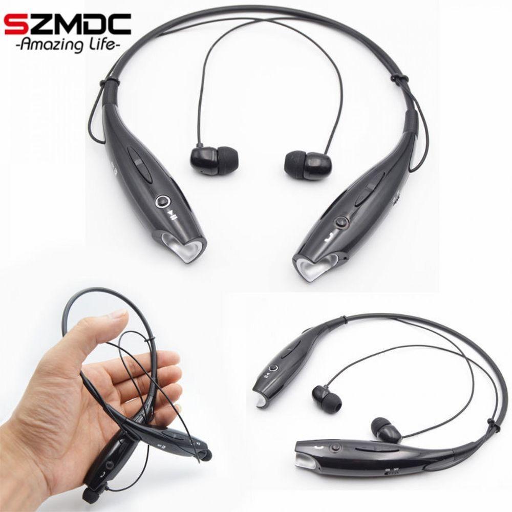 Wireless Bluetooth Headset Neckband Style Sports Mic Bass Samsung Earphones New Unbrandedgen Wireless Headphones With Mic Headphone With Mic Sports Headphones