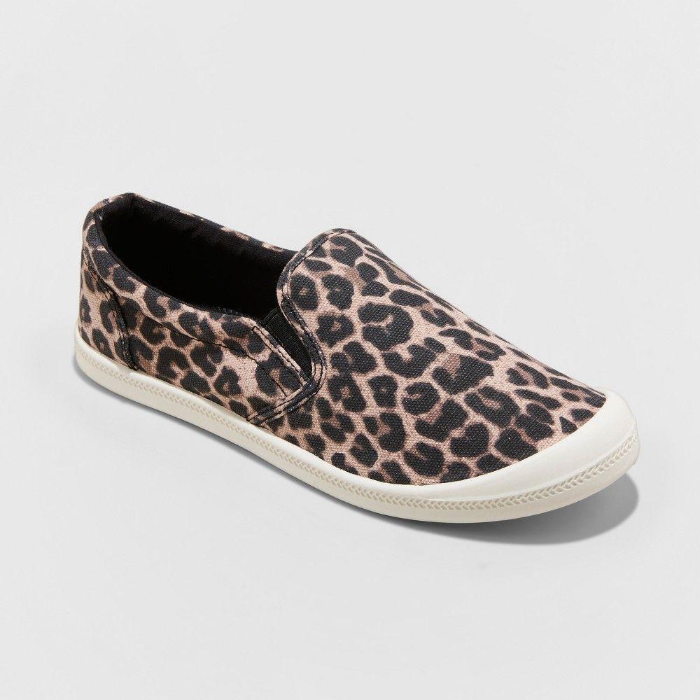66dc81a0805 Women s Mad Love Kasandra Leopard Twin Gore Canvas Sneakers - Brown ...