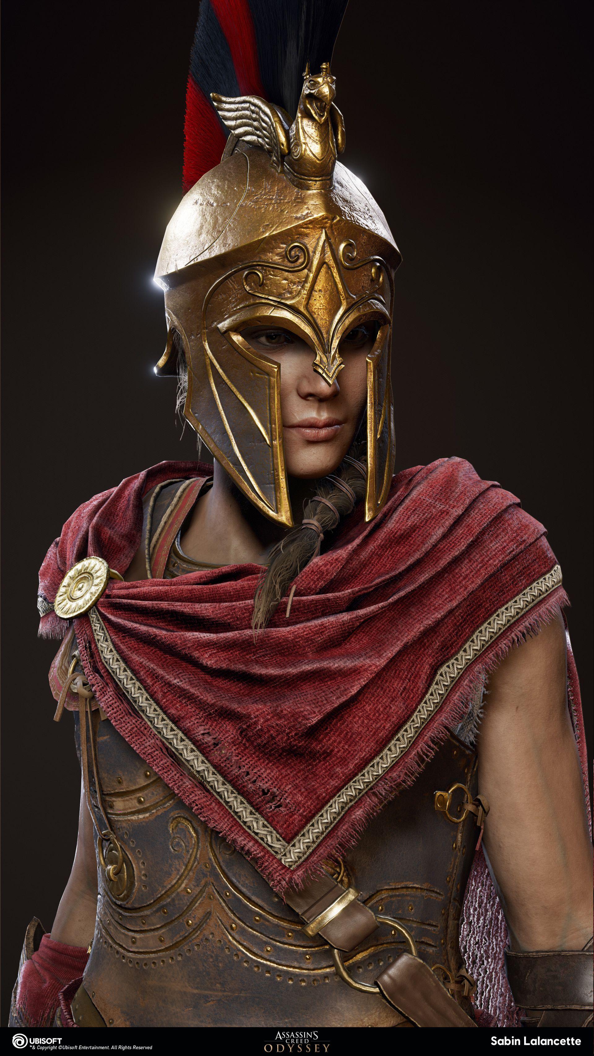 Artstation Alexios Kassandra Outfit Mercenary Sabin