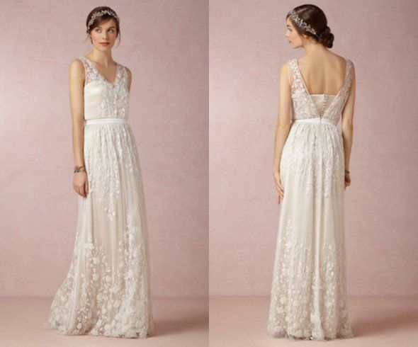 Casual Backyard Wedding Dresses