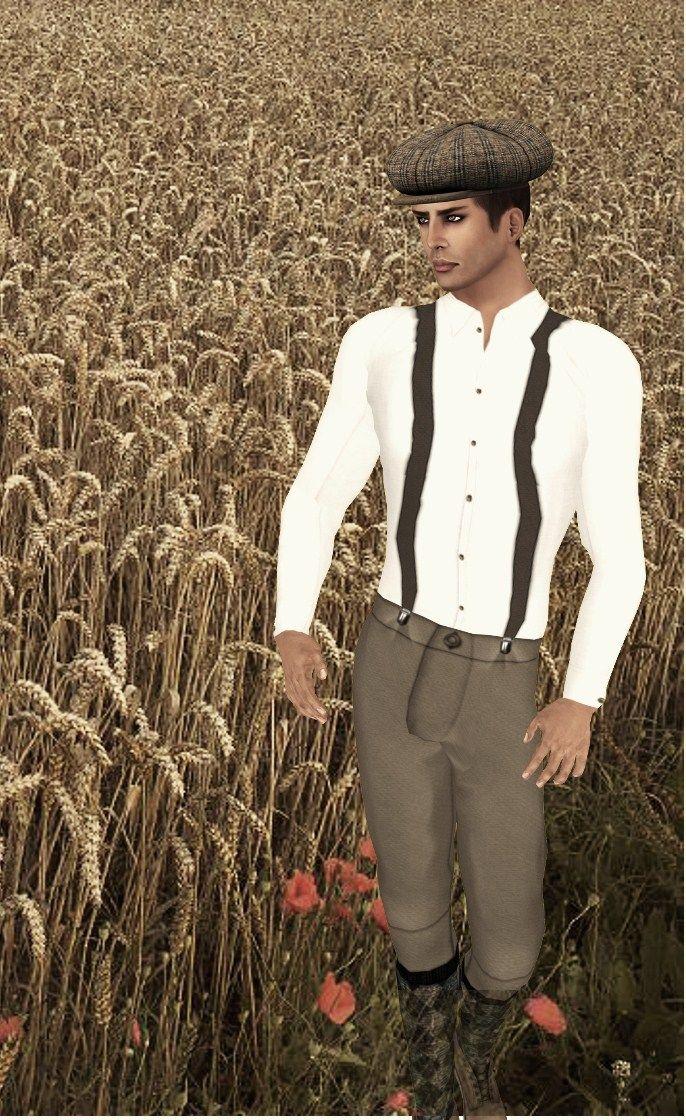 Secondlife Male Style & Fashion: January 2011